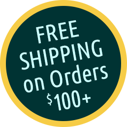 Free Shipping on Orders $100+